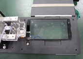 Liquid crystal panel module/touch-panel inspection